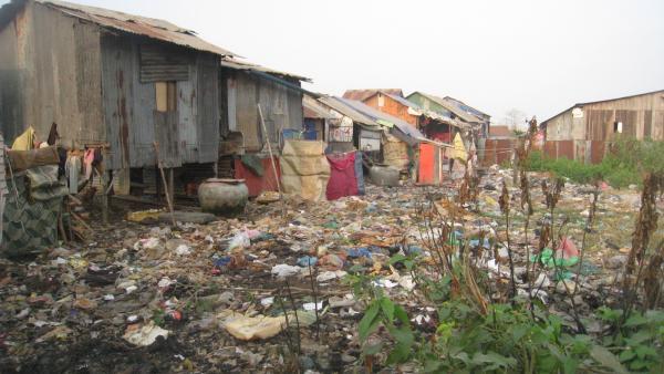 Village très pauvre de Prek Toil